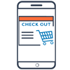 small business mobile app shopping cart blurb