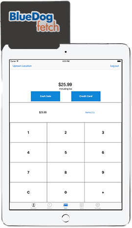 bluedog fetch mobile merchant solution image
